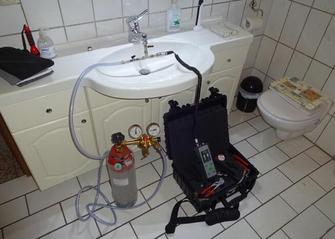 Diagnostik - Leckortung von Rohrleitungs- und Wasserschaden