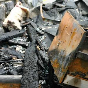Brandschadenbeseitigung ist eine unserer Kernkompetenzen
