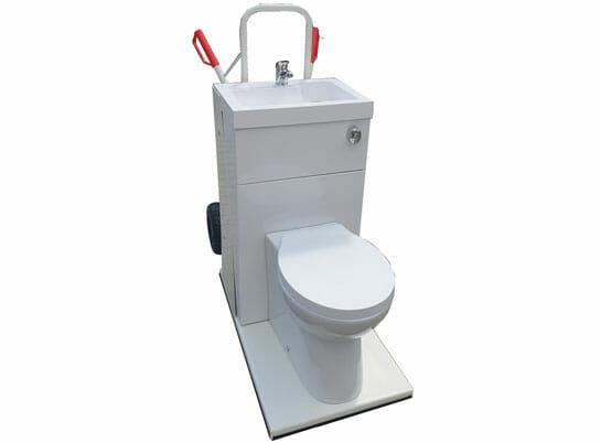 Mobile Toilette für Ihre Badsanierung einfach mieten